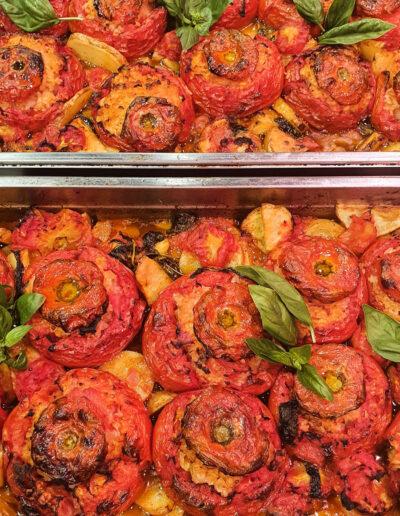 Pomodori al riso con patate della Macelleria Mariani